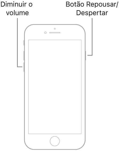 Tela do iPhone ficou preta