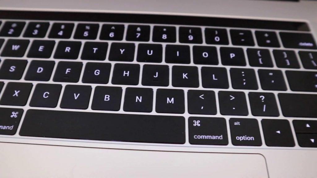 Teclado Macbook falhando